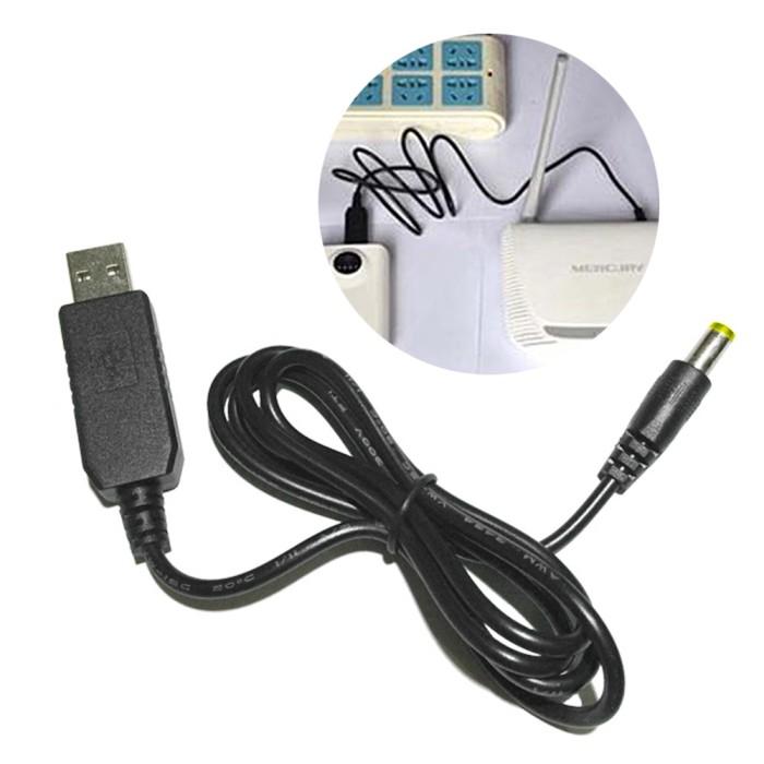 USB DC 5 V à DC 12 V Step Up Câble Module Convertisseur 2.1x5.5mm connecteur mâle