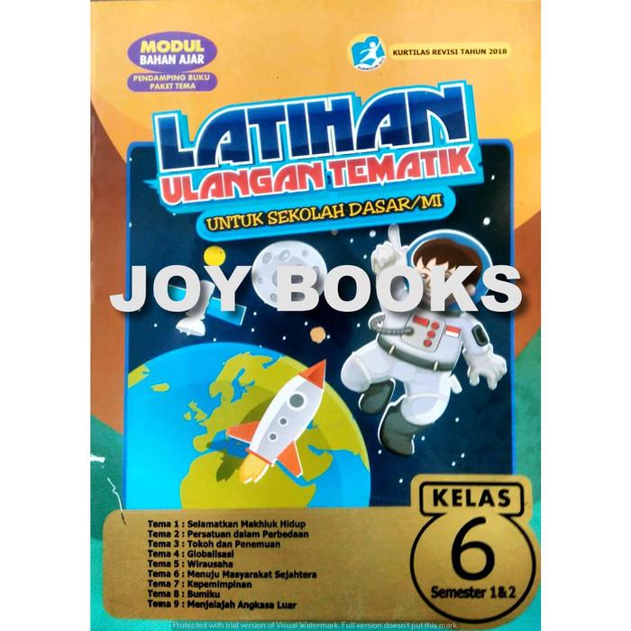 Jual Modul Kelas 6 Sd Buku Latihan Soal Tematik Sd Kelas 6 Kota Surabaya Joy Books Tokopedia