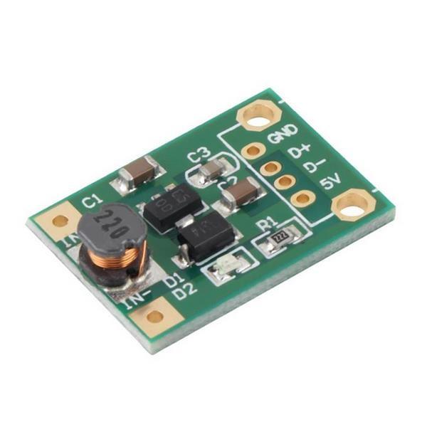 5pcs DC-DC Converter Step Up Boost Module 1-5V to 5V 500mA USB Charger