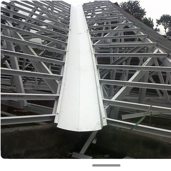 Jual Desain Atap Rumah Minimalis Baja Ringan Kota Padang Global Tukang Tokopedia