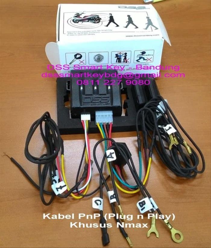 Jual DSS SMART KEY INCLUDE Kabel PnP Vario 125 Vario 150 Nmax - Bike Wiring Vario on