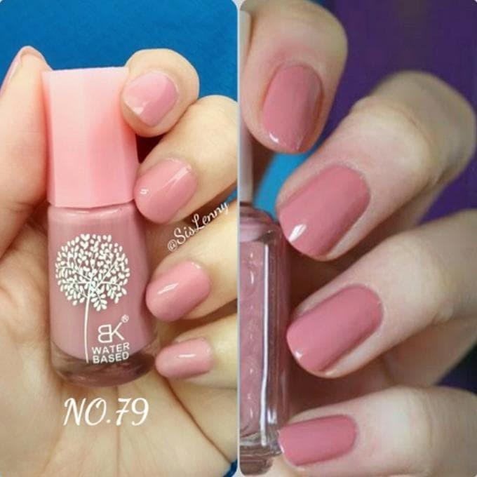 Jual Pink Mauve 79 Bk Peel Off Nail Polish Kutek Halal Water Based Jakarta Barat Tio Pramayudi Shop Tokopedia