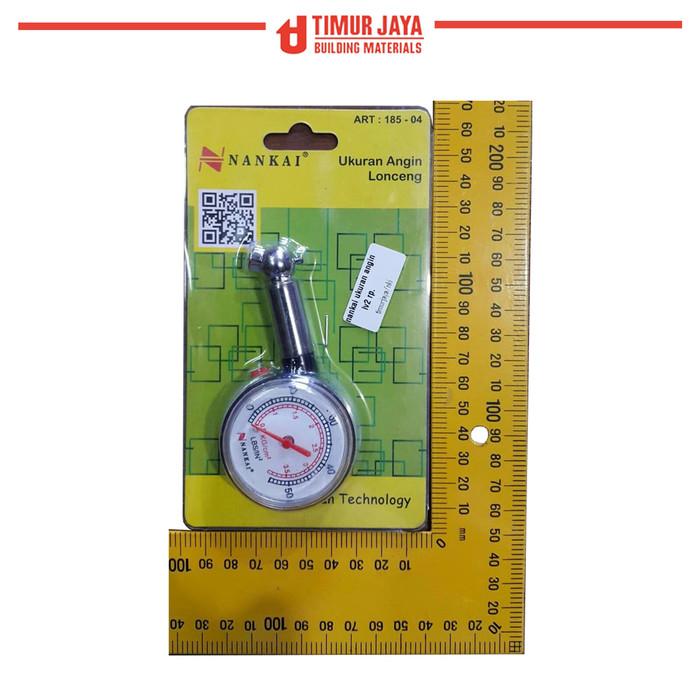 Foto Produk Tire Pressure Gauge Nankai Alat Tester Pengukur Tekanan Angin Ban dari TOKO BESI TIMUR JAYA