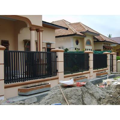 Jual Pagar Besi Hollow Minimalis Jakarta Selatan Rafanjaya