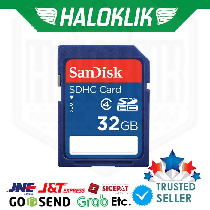 harga Sandisk sdhc 32gb Tokopedia.com