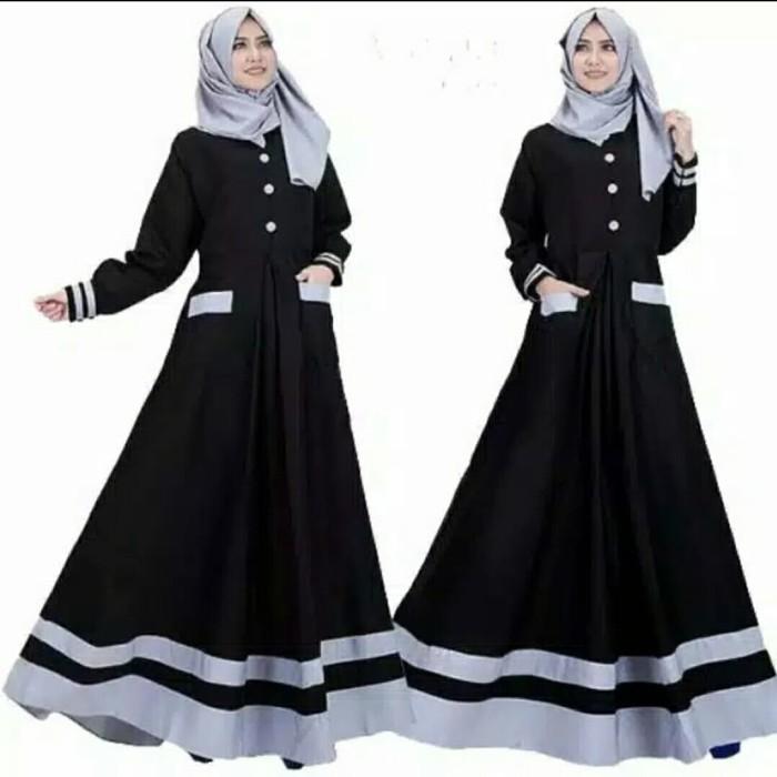 Foto Produk Pakaian Baju Busana Muslim Wanita Dress ALISHA Gamis Terbaru Termurah dari Zy's Distro