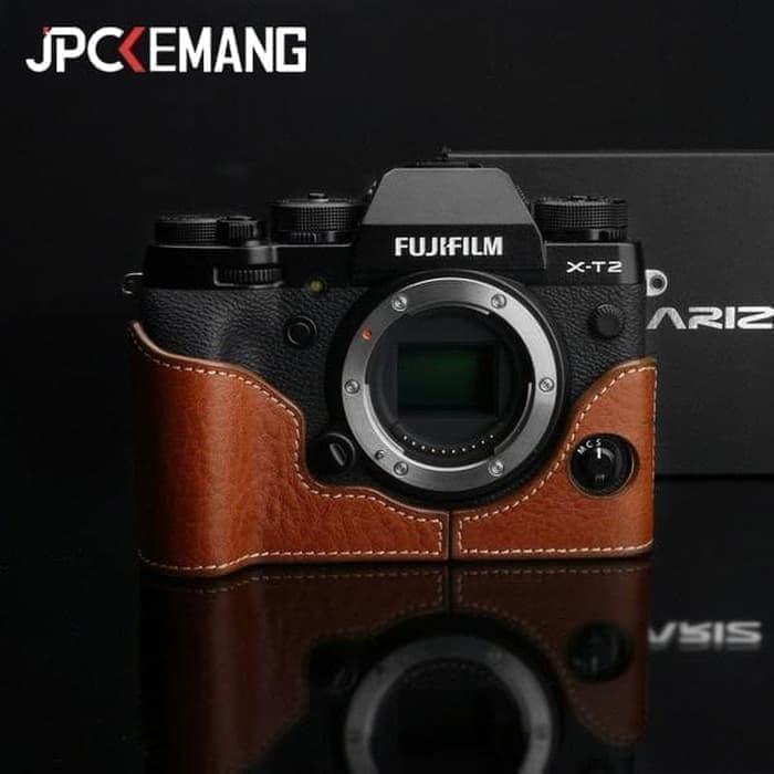 Foto Produk Gariz Halfcase for Fujifilm XT2 (XS-XHXT2 Camel) - Cokelat Muda dari JPCKemang
