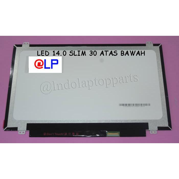 Foto Produk LED 14.0 SLIM 30 PIN KUPING ATAS BAWAH dari Indolaptopparts Store