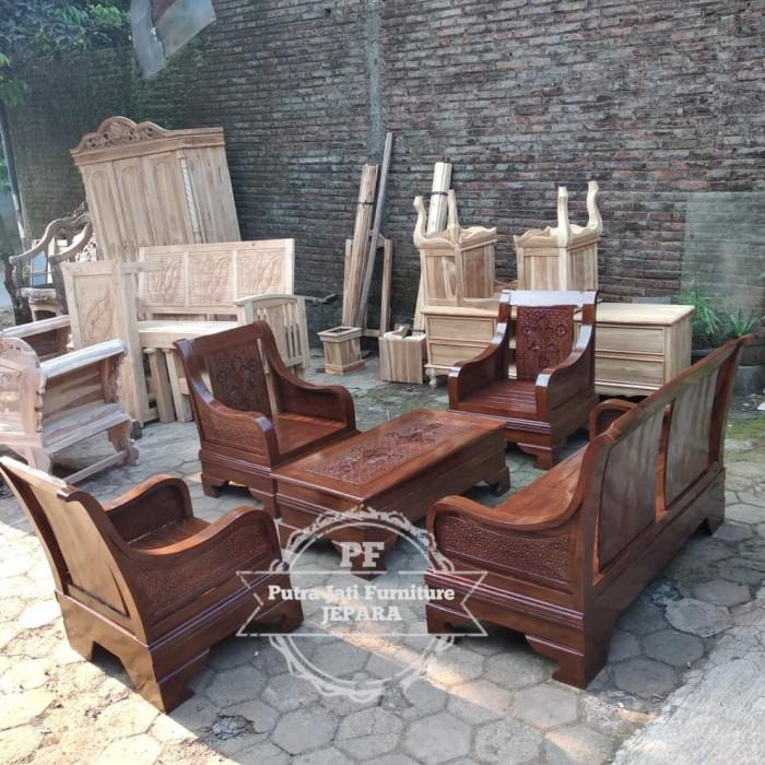 Jual Termurah Meja Kursi Semut Kayu Jati Kursi Ruang Tamu Minimalis Kab Jepara Seni Jati Ukiran Jepara Tokopedia