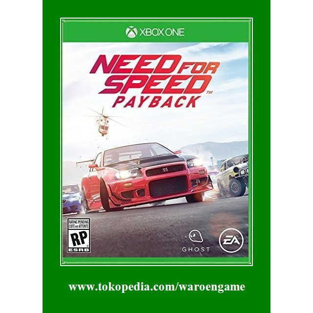 Jual Xbox One Need For Speed Payback Xbox One Xbox One X Game