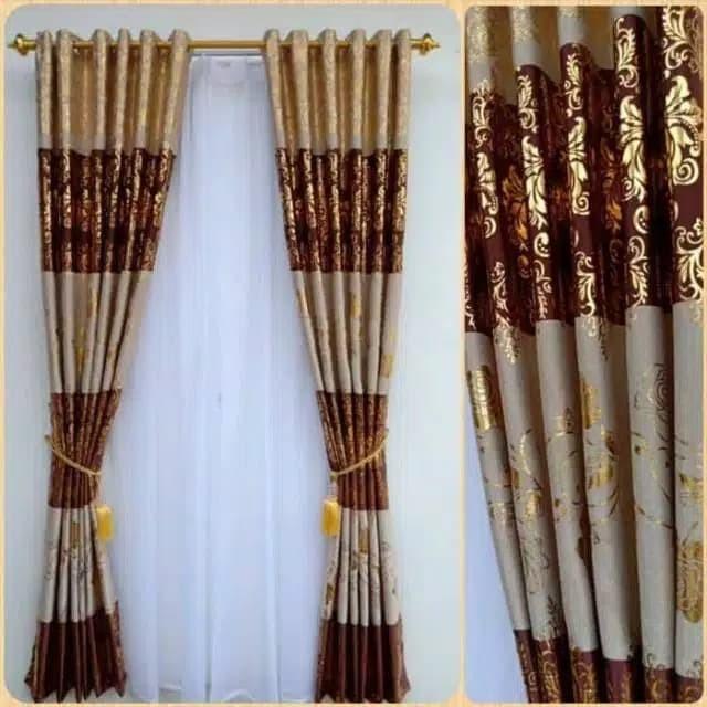 Jual Gorden Jendela Gorden Rumah Minimalis Tirai Pintu# Blezer Kemangi -  Kab. Bandung - ZONA GORDEN | Tokopedia
