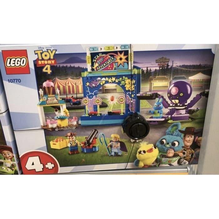Jual Lego 10770 Disney Toy Story 4 Buzz Woody S Carnival Mania Ori