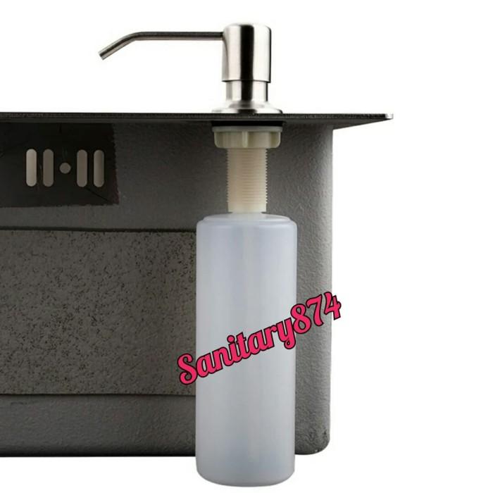 Jual Soap Dispenser Kitchen Sink Tempat Sabun Cuci Piring Dapur Jakarta Pusat Sanitary874 Tokopedia