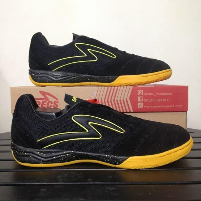 Jual Sepatu Futsal Specs Metasala Rival Black 400729 Original