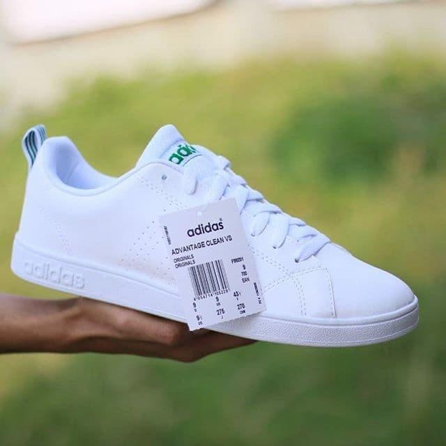 Jual Sneakers Original (BNIB)Adidas Neo Advantage Clean VS White List Green , Kab. Tangerang AB COLLECTIONN | Tokopedia