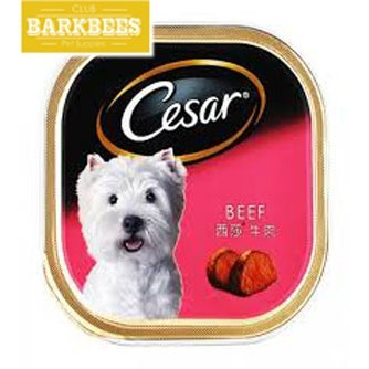 Jual Cesar Tray 100gr Wet Dog Food Makanan Anjing Murah Jakarta