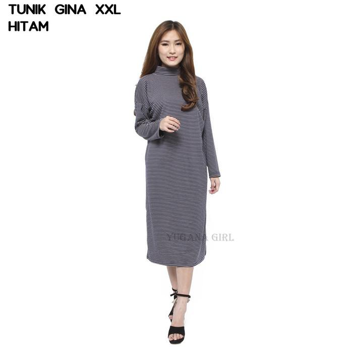 Jual Fashion Baju Mini Dress XXL Lengan Panjang Murah ...