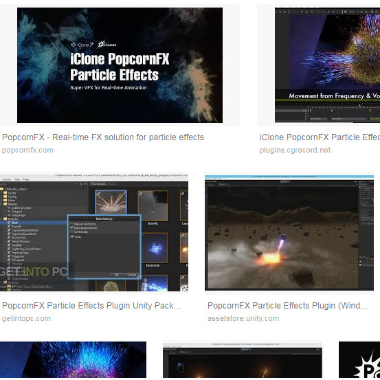 Jual PopcornFX Particle Effects Plugin Unity Package - Kab  Jayapura - Soft  Full Ver | Tokopedia
