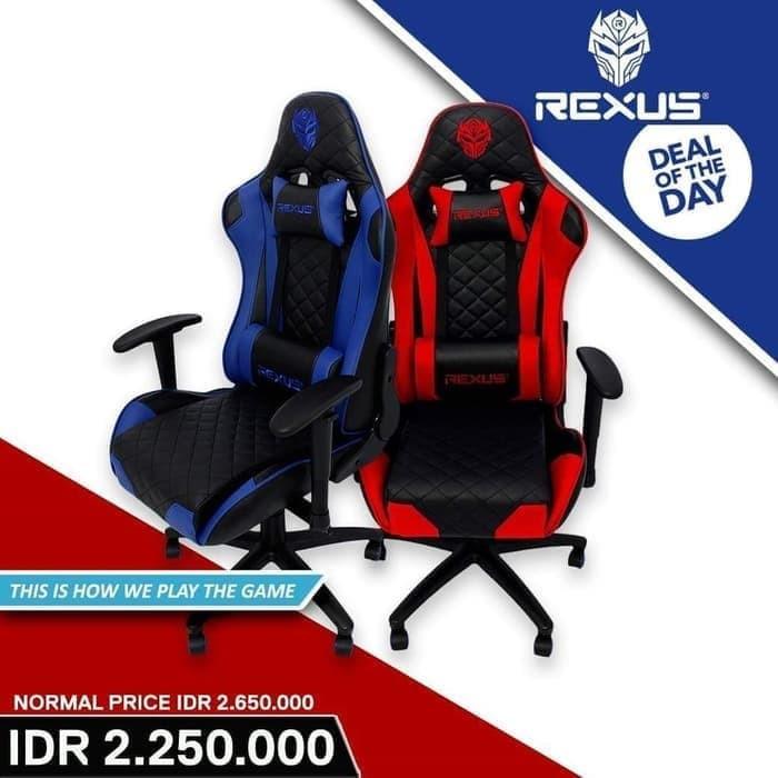Jual Kursi Gaming Rexus RCH 101 - Biru - Jakarta Pusat ...