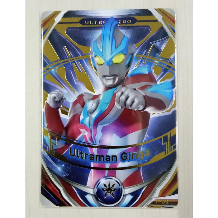 Jual Ultraman Fusion Fight Ver1 Or Card Ultraman Ginga I 011 Jakarta Barat Justin Richard Mart Tokopedia