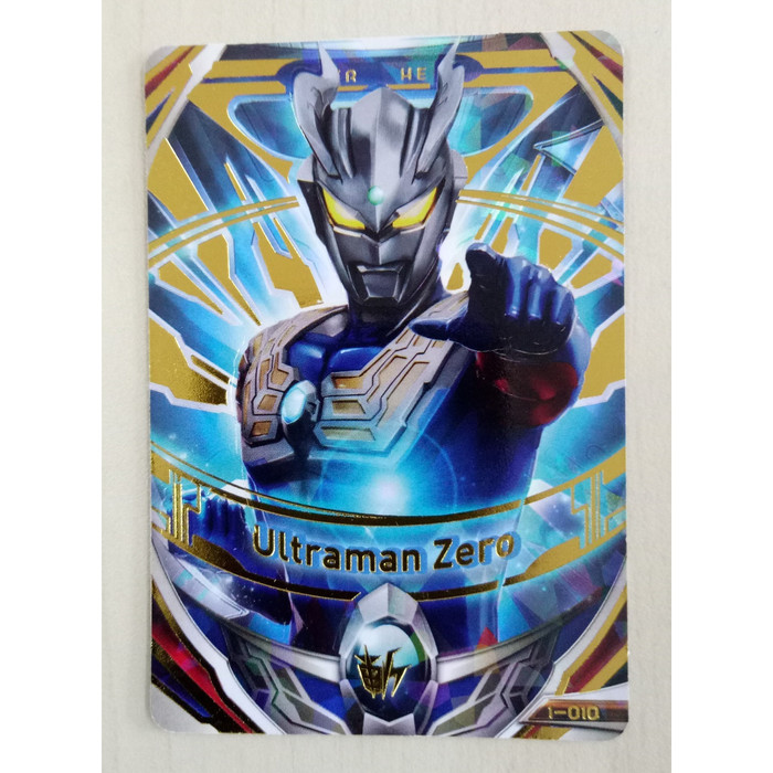 harga Ultraman fusion fight ver.1 ur card ultraman zero (i-010) Tokopedia.com