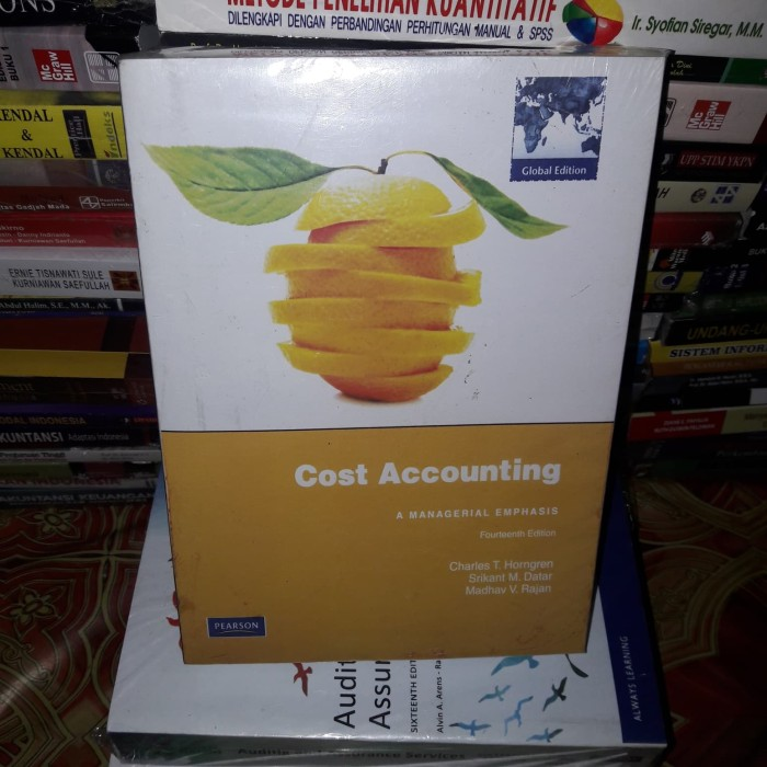 harga Cost accounting 14th edition by charles t. horngren Tokopedia.com