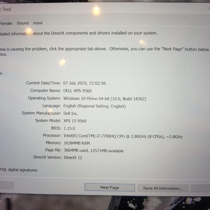 Jual Dell XPS 15 9560, UHD 4K Touch, I7-7700HQ, 16GB DDR4, Nvme 512GB -  Kota Tangerang Selatan - Luv Aischa Shop | Tokopedia