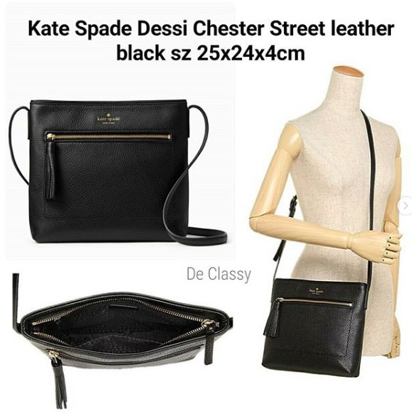 NWT Kate Spade Chester Street Dessi Leather Crossbody