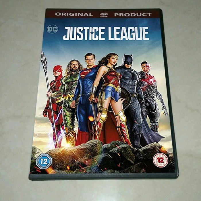 Jual Dvd Justice League 2017 Sub Indo Kab Banyuwangi Play Dvd Tokopedia