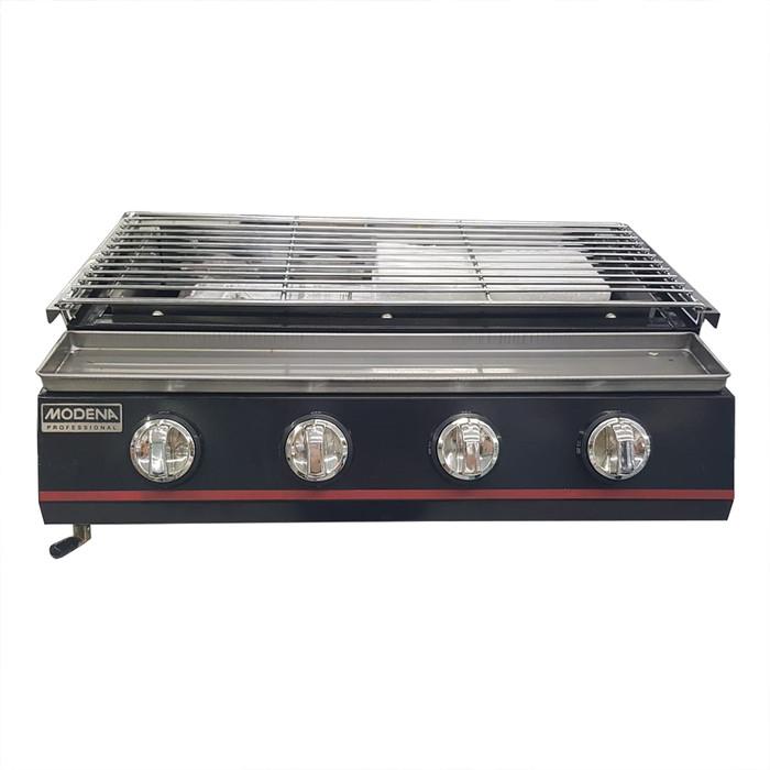 harga Modena bb1046g gas bbq 4 burner pemanggang gas Tokopedia.com