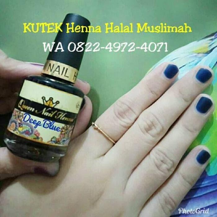 Jual Semir Alis Henna Halal Di Lapak Yasier Mila Milla Yasier: Jual KUTEK KUKU MUSLIMAH BERSERTIFIKAT HALAL MUI QUEEN