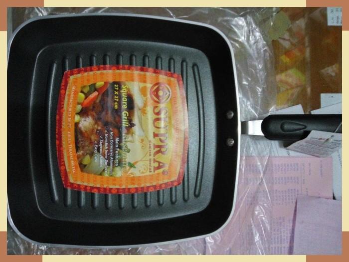 Jual Supra Square Grill Rosemary Pan 27cm Kab Bekasi Global