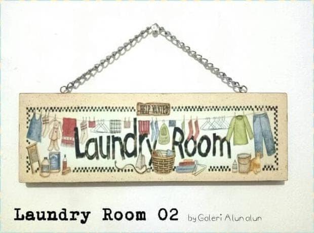 Jual Hot Sale Hiasan Dinding Wall Decor Laundry Room Sign 02 Jakarta Barat Ahmadburhan248 Tokopedia