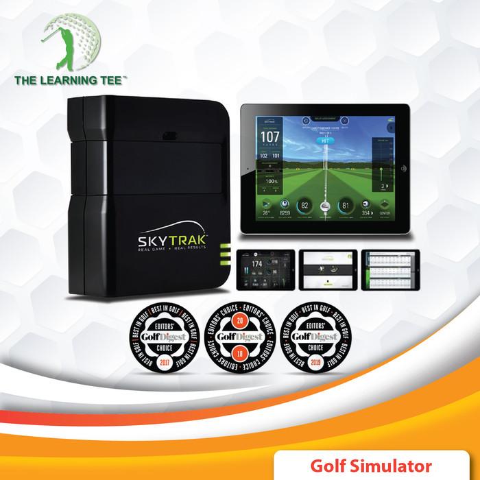 harga Skytrak launch monitor and golf simulator measure shot data accurately Tokopedia.com