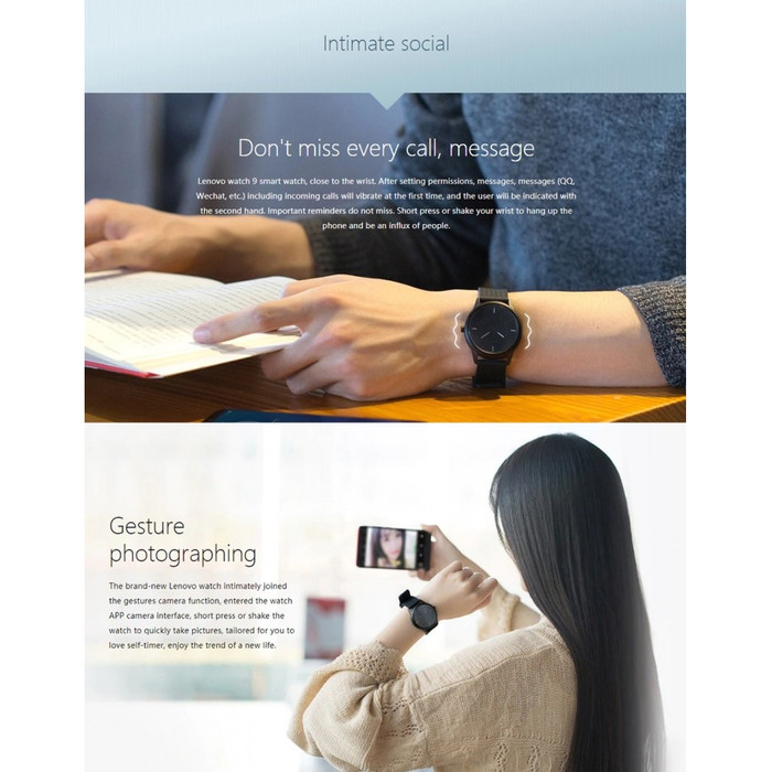 Jual LENOVO Watch 9 - Hybrid Mechanical-Electronic Integrated Smart Watch -  DKI Jakarta - Grosir House 88 | Tokopedia