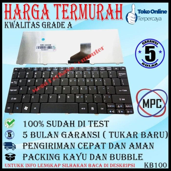 Keyboard Notebook Acer Aspire One Ao532h D255 D257 Ao255 Ao257 D260