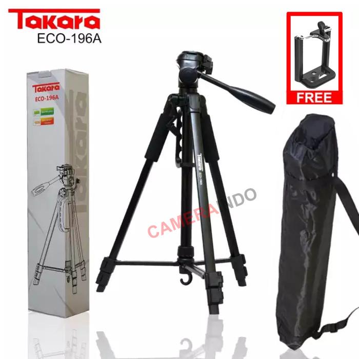 Foto Produk Tripod Takara eco 196a plus bag holder tripod kamera DLSR dan phone dari cameraindo