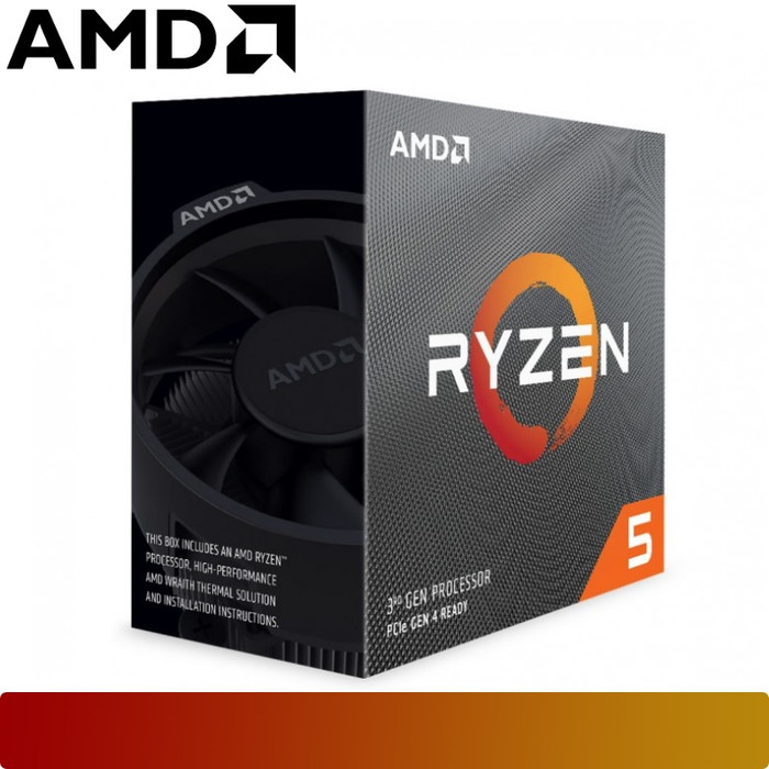 Foto Produk Processor AMD - RYZEN 5 3600 Matisse AM4 6 Core Zen 2 CPU dari Nano Komputer