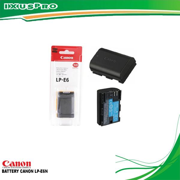 harga Battery canon lp-e6n (7.2v 1865mah) original 100% Tokopedia.com