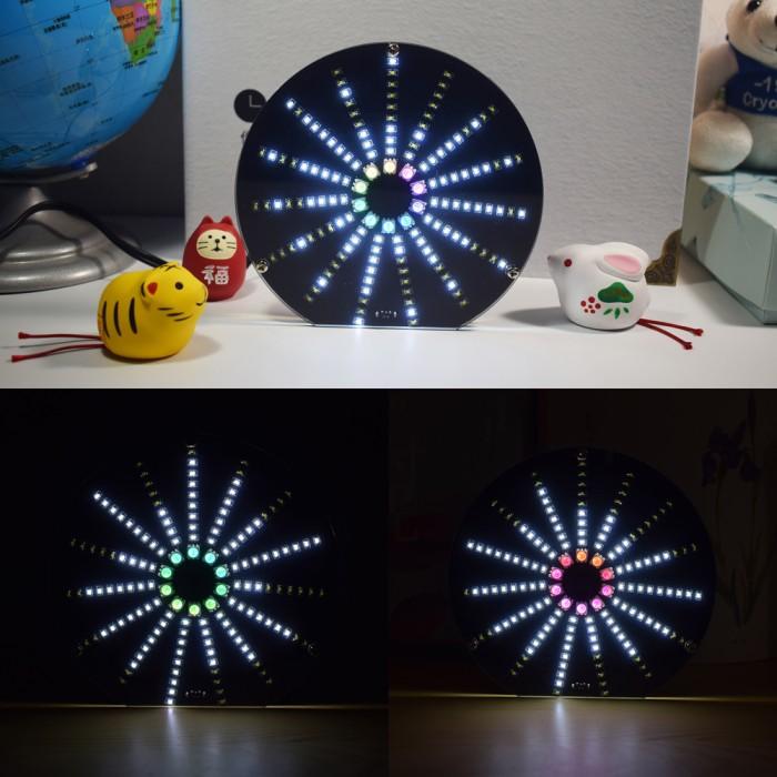 Jual Geekcreit LED Circular Audio Visualizer Music Spectrum - Jakarta Barat  - Modernio | Tokopedia