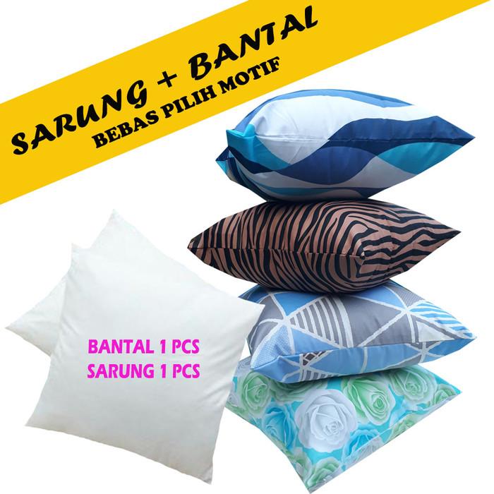 Foto Produk BANTAL SOFA + SARUNG SOFA 40 X 40 CM dari pondok aren shop
