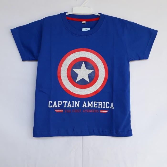 Marvel Captain America Boys Kids T-Shirt Size 10-12 NWT