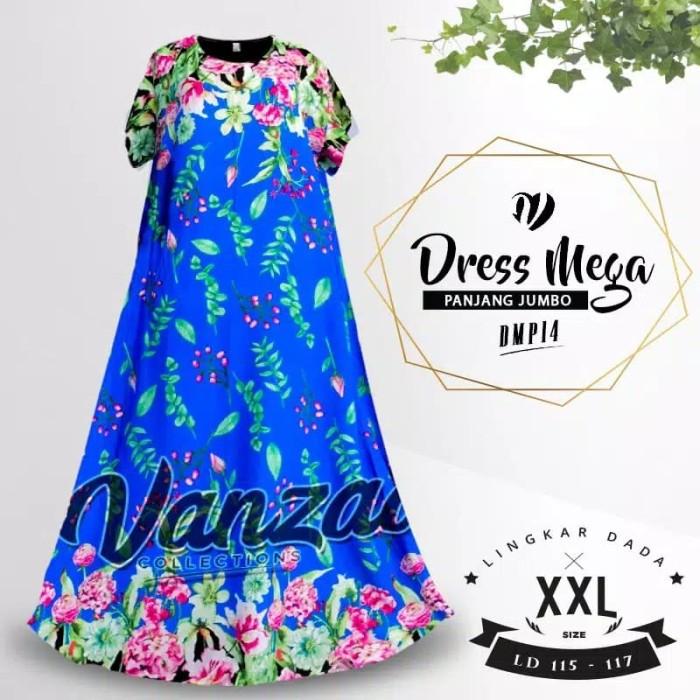 Foto Produk Dress Panjang Jumbo Kasual Daster Ibu Hamil Baju Tidur Murah Terbaru dari TDM Karunia Ilahi