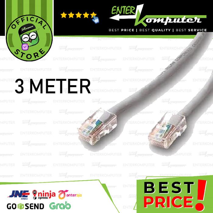 Foto Produk Kabel LAN 3 Meter - Standard dari Enter Komputer Official