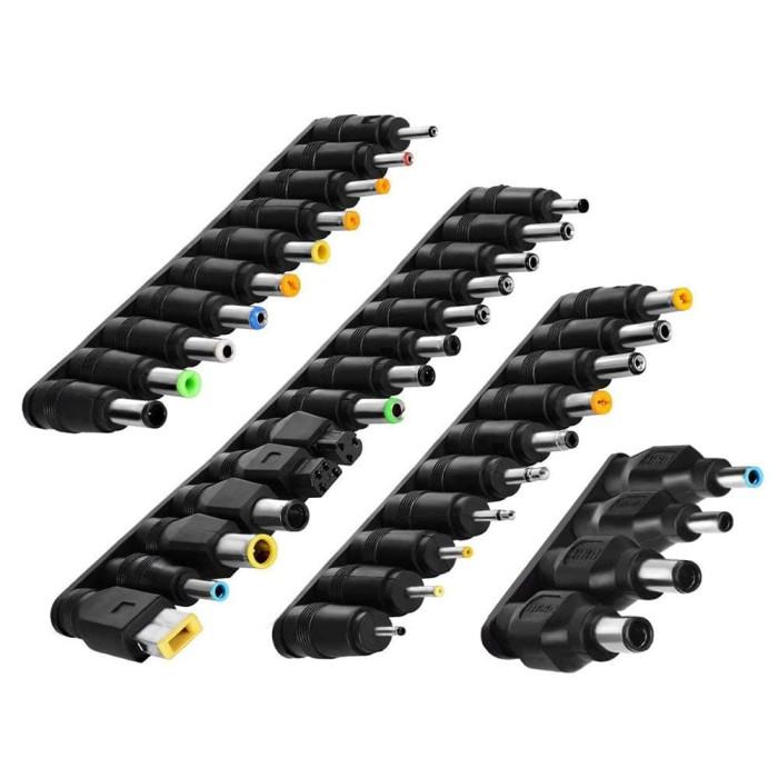 Foto Produk Termurah Laptop DC Power Adapter Kits 38 PCS Universal 5.5 mm x 2.1 mm dari NMZ Shopping center