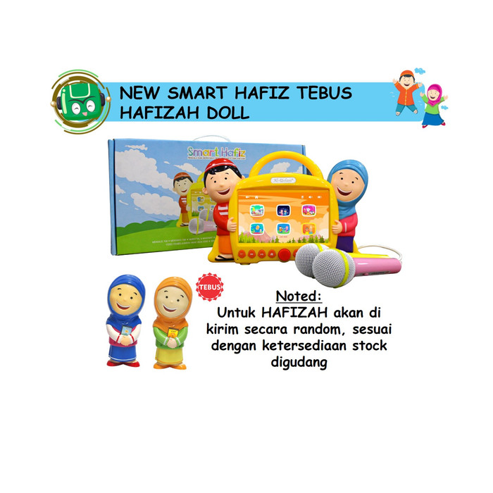 harga New smart hafiz tebus hafizah doll Tokopedia.com