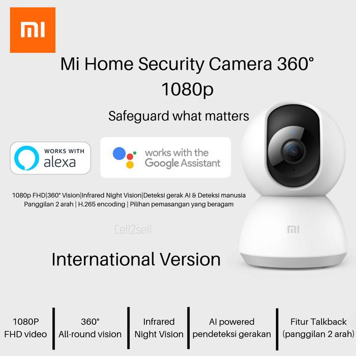 Foto Produk Xiaomi Mi Home Security Camera 360° 1080p dari cell2sell