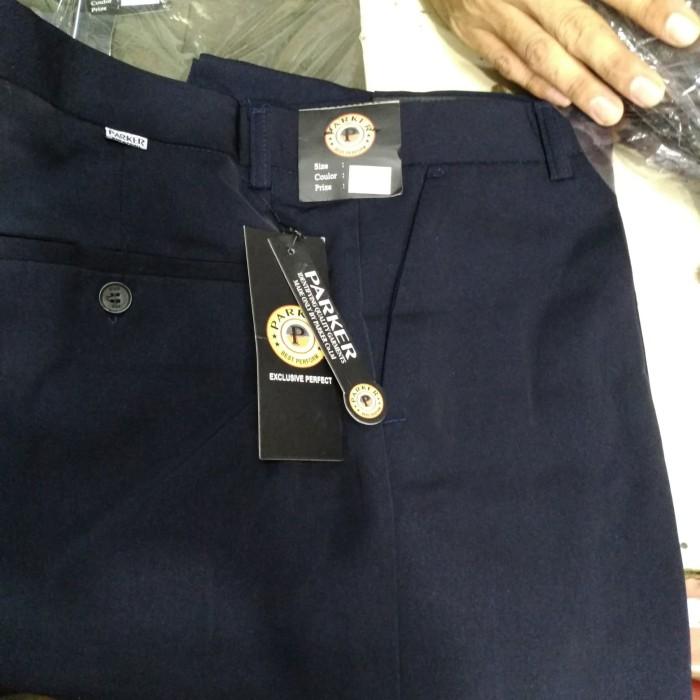 harga Celana panjang pria merek parker/formal reguler bahan kantor s45-50 Tokopedia.com