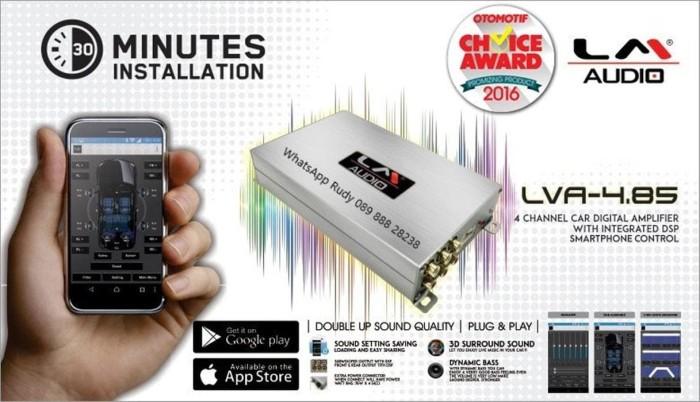 Jual Digital Sound Processor DSP LM Audio LVA 4 85 Build in Amplifier 485 -  Kota Surabaya - HD VARIASI MOBIL   Tokopedia