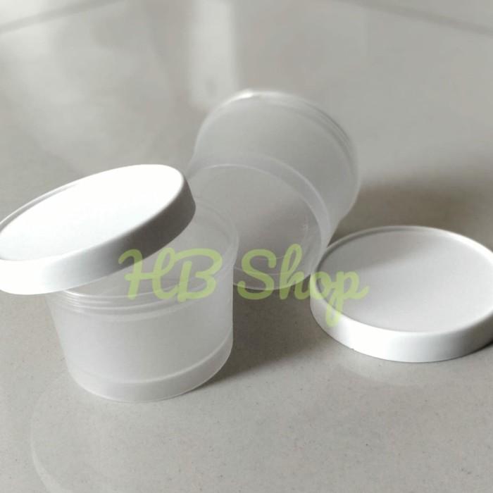 Foto Produk Pot jar Kosmetik cream skincare dof 100ml dari Harapan Baru Shop